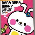 Crux Japan Dara Dara Bunny Mini Memo Pad Kawaii