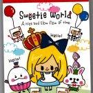 Kamio Japan Sweetie World Mini Memo Pad Kawaii