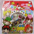 Q-Lia Japan Happy Fairy Story Jewel Sticker Sack Kawaii