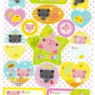 Crux Japan Pig's Life Sticker Sheet from Memo Pad Kawaii