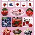 Wizard Japan Sweet Fruits Sticker Sheet from Memo Pad Kawaii