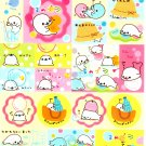 San-X Japan Mamegoma Sticker Sheet from Memo Pad (B) Kawaii