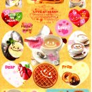 Crux Japan Love My Heart Sticker Sheet from Memo Pad Kawaii
