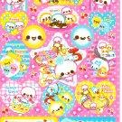Crux Japan Cream Friends Sticker Sheet from Memo Pad Kawaii