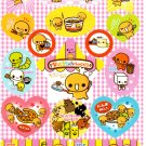 Crux Japan Natto Chan Sticker Sheet from Memo Pad (A) Kawaii