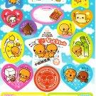 Crux Japan Natto Chan Sticker Sheet from Memo Pad (D) Kawaii