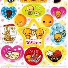Crux Japan Natto Chan Sticker Sheet from Memo Pad (E) Kawaii