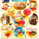 Crux Kamio Q-Lia Japan Sweet Punch Sticker Sheet from Memo Pad Kawaii