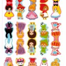 Kamio Japan Fairy Tales Index Sticker Sheet Kawaii