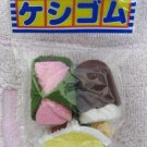 Iwako Japan Desserts Diecut Erasers Set of 3 (C) Kawaii