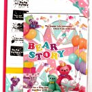 Mind Wave Japan Bear Story Letter Set with Stickers Kawaii