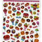 Daiso Japan Desserts Epoxy Sticker Sheet Kawaii