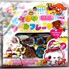 Crux Japan Friend Town Jewel Sticker Sack Kawaii