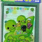 Kamio Japan Edamame Memo Sheets with Sticker in Net Rare Kawaii