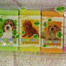 Candy Town Japan Happy Mate Puppies Mini Erasers Set of 7 Kawaii