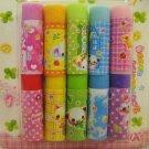 Crux Japan Babyangel Animals Mini Erasers Set of 10 Rare Kawaii