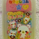 Kamio Japan Sweet Donut Erasers in Case Kawaii