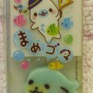 San-X Japan Mamegoma Block Eraser with Diecut Eraser 2010 (A) Kawaii