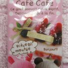 Kamio Japan Cafe Cafe Block Eraser (A) Kawaii