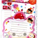 Wizard Japan Sweet Time Letter Set with Stickers Kawaii
