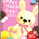 Crux Japan Sweet Happy Rabi Memo Pad with Stickers Kawaii