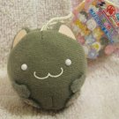 Maruneko Club Japan Mini Plush Strap (C) New with Tag Kawaii