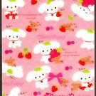 San-X Japan Berry Puppy Mini Memo Pad (D) 2009 Kawaii