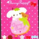 San-X Japan Berry Puppy Mini Memo Pad (B) 2010 Kawaii