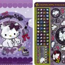 Sanrio Japan Charmmy Kitty Twinklekirara Seal and Folder by Bandai (A) 2005 Kawaii