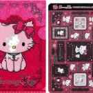 Sanrio Japan Charmmy Kitty Twinklekirara Seal and Folder by Bandai (B) 2005 Kawaii