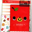 Kamio Japan Apple Bear Letter Set Kawaii