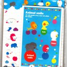 Kamio Japan Animal Smile Letter Set with Stickers Rare Kawaii
