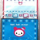 Kamio Japan Rabi Rabi Winter Letter Set with Stickers Rare Kawaii