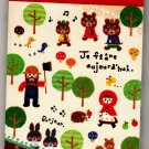 Mind Wave Japan In The Forest Mini Memo Pad Kawaii
