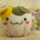 Maruneko Club Japan Mini Plush Strap (E) New with Tag Kawaii