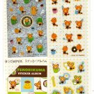 Sanrio Japan Tenorikuma Variety Sticker Sheet with Mini Sticker Album Kawaii
