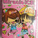 Kamio Japan Miracle Girls Block Popsicle Eraser Kawaii