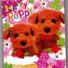 Q-Lia Japan Merry Puppy Mini Memo Pad Kawaii