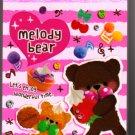 Mind Wave Japan Melody Bear Mini Memo Pad (B) Kawaii