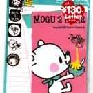 Kamio Japan Mogu 2 Bear Letter Set with Stickers Kawaii