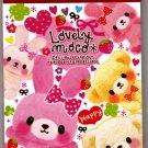 Pool Cool Japan Lovely Moco Mini Memo Pad Kawaii