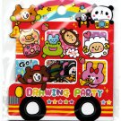 Kamio Japan Drawing party Sticker Sack Kawaii