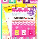 Q-Lia Japan Everyone Smile Letter Set with Stickers Kawaii