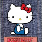 Sanrio Japan Hello Kitty Jumbo Sealdass Booklet by Bandai 2002 Kawaii