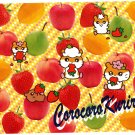 Sanrio Japan Coro Coro Kuririn Hamster Pix Press Jumbo Sealdass Booklet 2002 Kawaii
