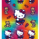 Sanrio Japan Hello Kitty and Teddy Sticker Sheet 2002 Kawaii