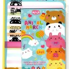 Mind Wave Japan Animal March Letter Set with Stickers Kawaii