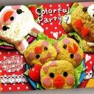 Kamio Japan Colorful Party Mini Memo Pad Kawaii