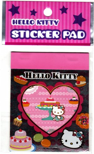 Sanrio Japan Hello Kitty Sticker Pad (B) 2010 Kawaii