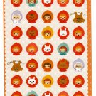 Phoenix Japan Red Riding Hood Sticker Sheet Kawaii